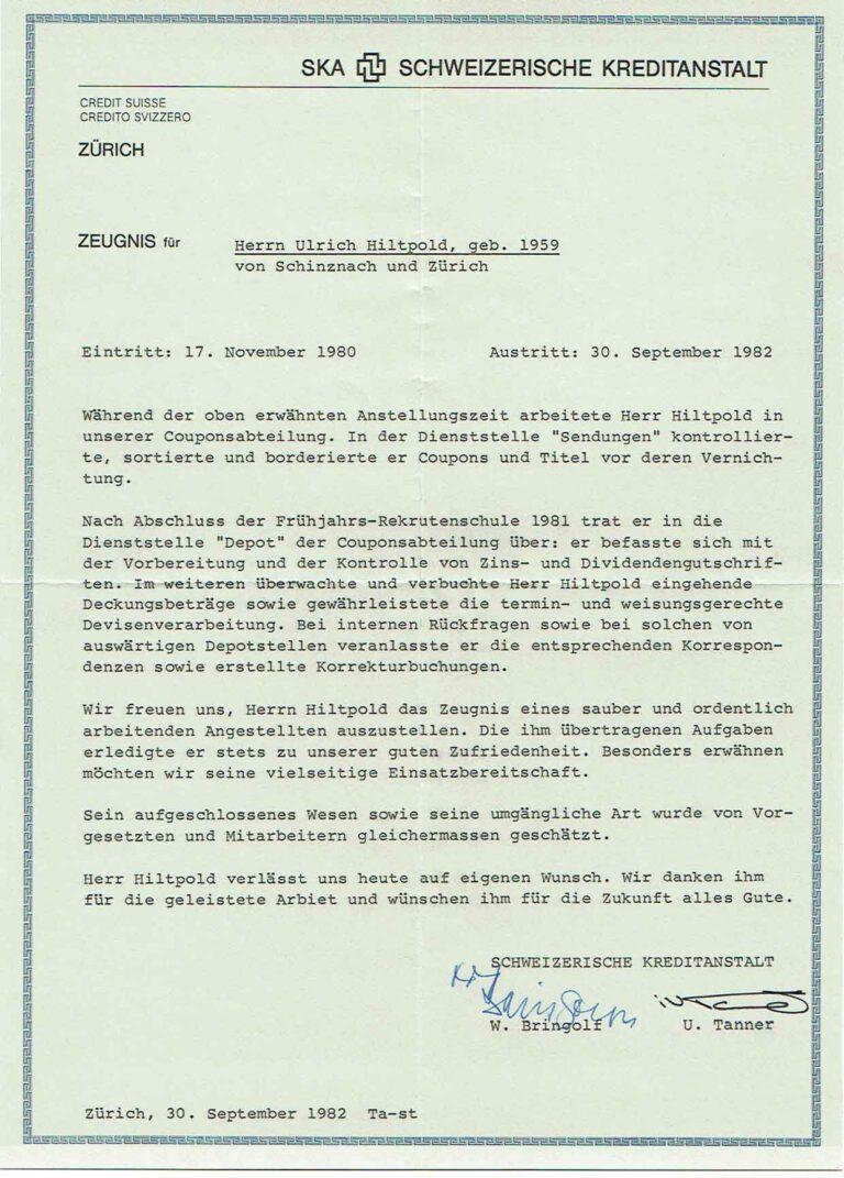 SKA ; 30. September 1982